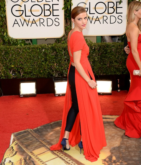 Emma Watson no Globo de Ouro de 2014 (Foto: Getty Images)
