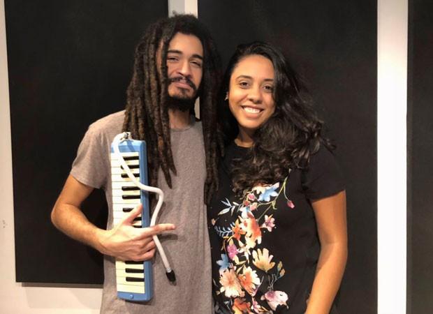 Chico Brown e Fabiane Pereira  (Foto: Angélica Cabral/Divulgação)