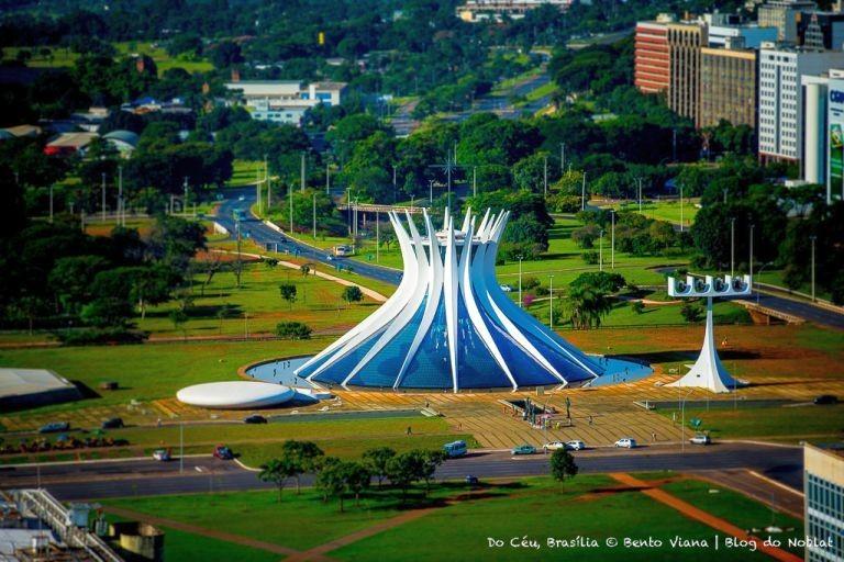 Catedral de Brasília (Foto: Bento Viana)