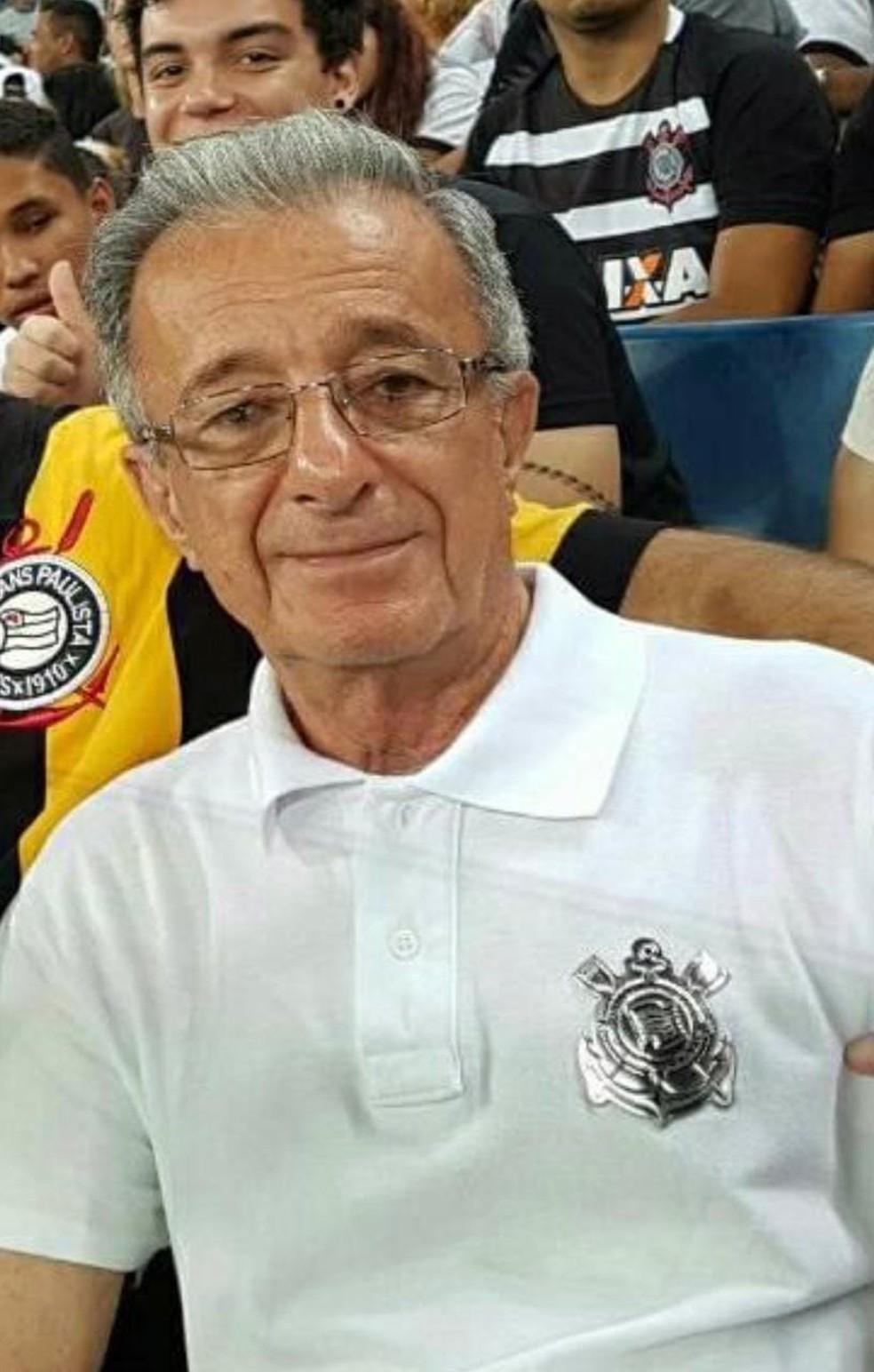 Joazir Bucair, de 83 anos, morreu vítima de Covid-19 em Cuiabá — Foto: Facebook