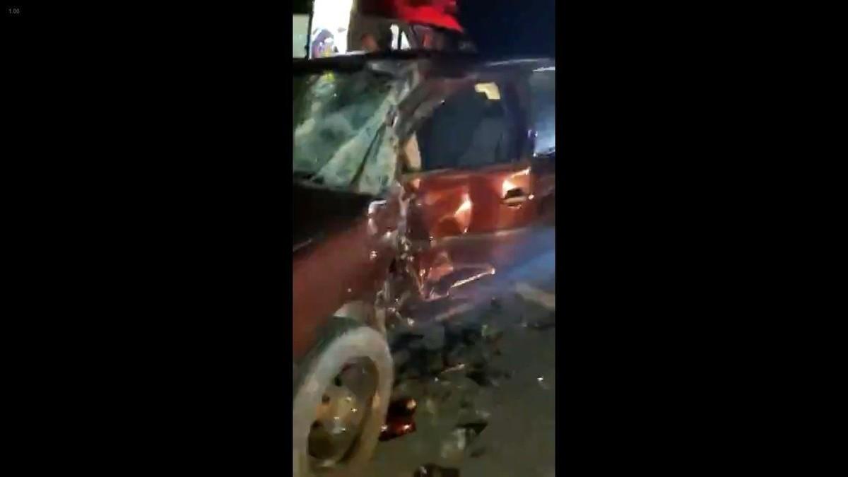 VÍDEO: motociclista morre após ser atingido por carro na BR-494 em Cláudio; motorista fugiu