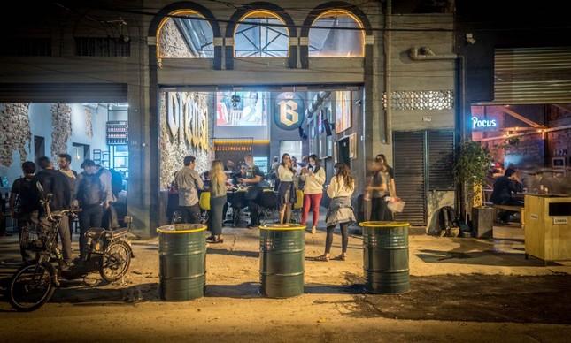 Novo polo cervejeiro em Botafogo