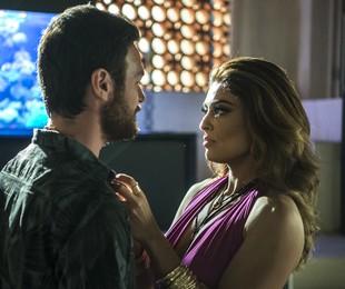 Rubinho (Emilio Dantas) e Bibi (Juliana Paes) em 'A força do querer' | Divulgação