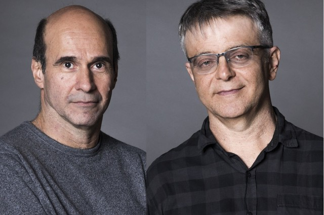 George Moura e Sergio Goldenberg (Foto: Victor Pollak/Globo)