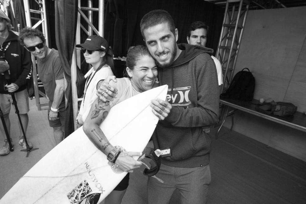 Filipe Toledo e Silvana Lima campeões Trestles surfe WSL (Foto: WSL / STEVE SHERMAN)