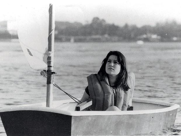 Marina Klink começou a velejar aos 10 anos, impulsionada pelo pai (Foto: Arquivo Pessoal)