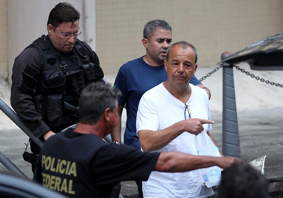 O ex-governador Sérgio Cabral está preso desde novembro de 2016 — Foto: Wilton Junior/Estadão Conteúdo