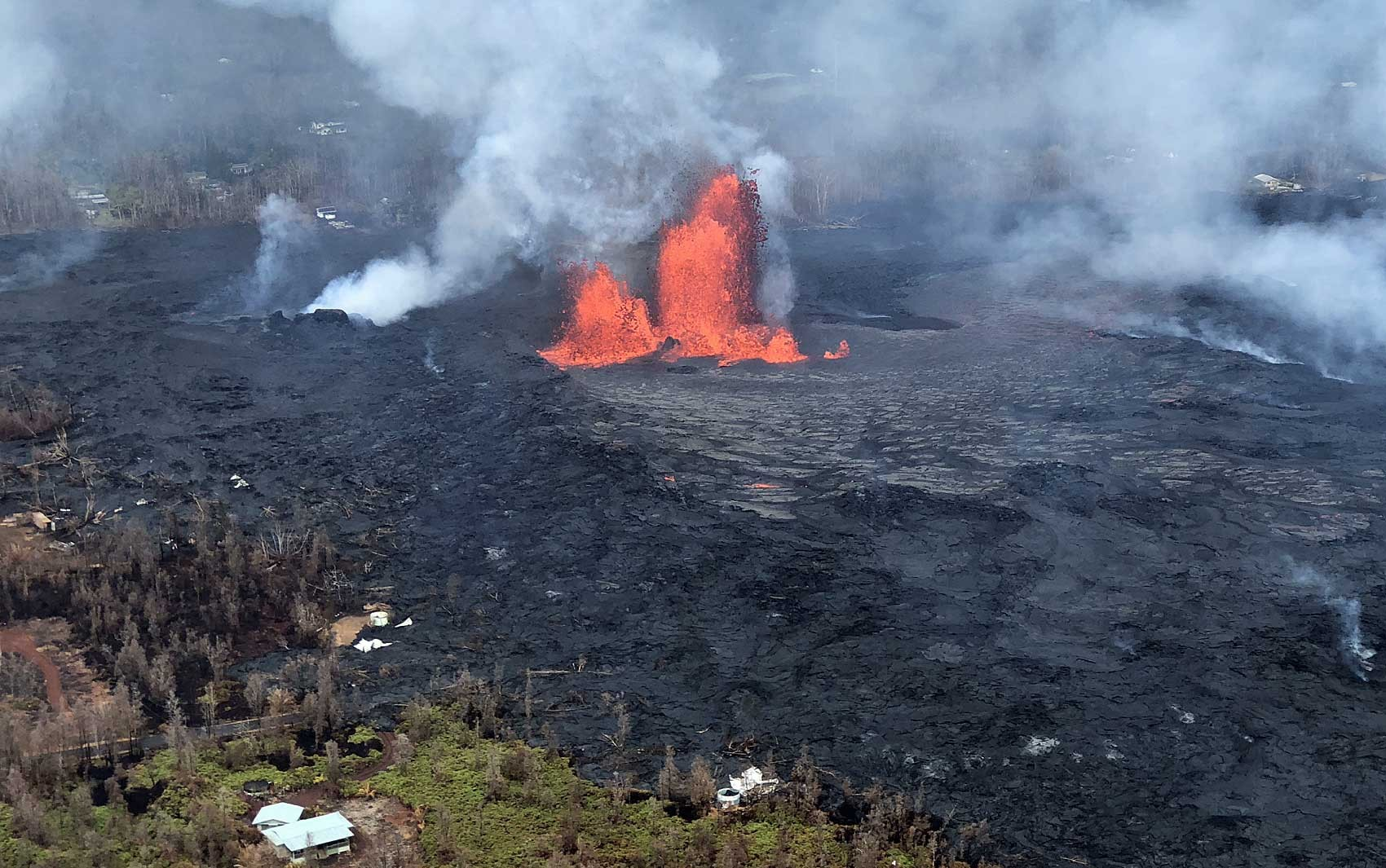 O que são as 'bombas de lava' como a do vulcão Kilauea que feriu 23 pessoas em um barco no Havaí