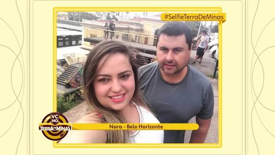 Selfies feitas em pontos turísticos do estado são exibidas no Terra de Minas