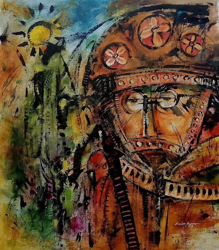 Artista potiguar é selecionado para expor pintura em Roma