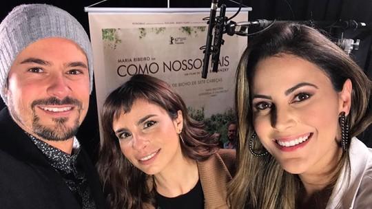 Maria Ribeiro e Paulo Vilhena falam sobre o filme 'Como Nossos Pais'