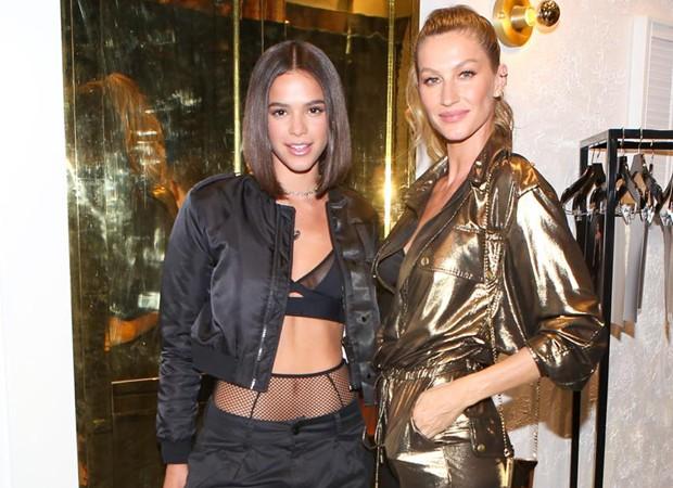 Bruna Marquezine e Gisele Bündchen (Foto: Divulgação)