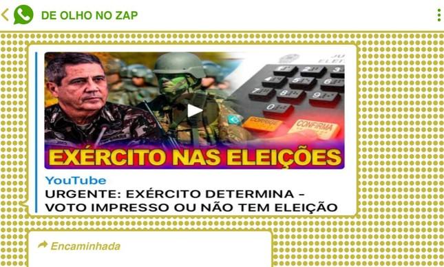 Suposta pressão de Braga Netto pelo voto impresso serviu como combustível nas redes bolsonaristas