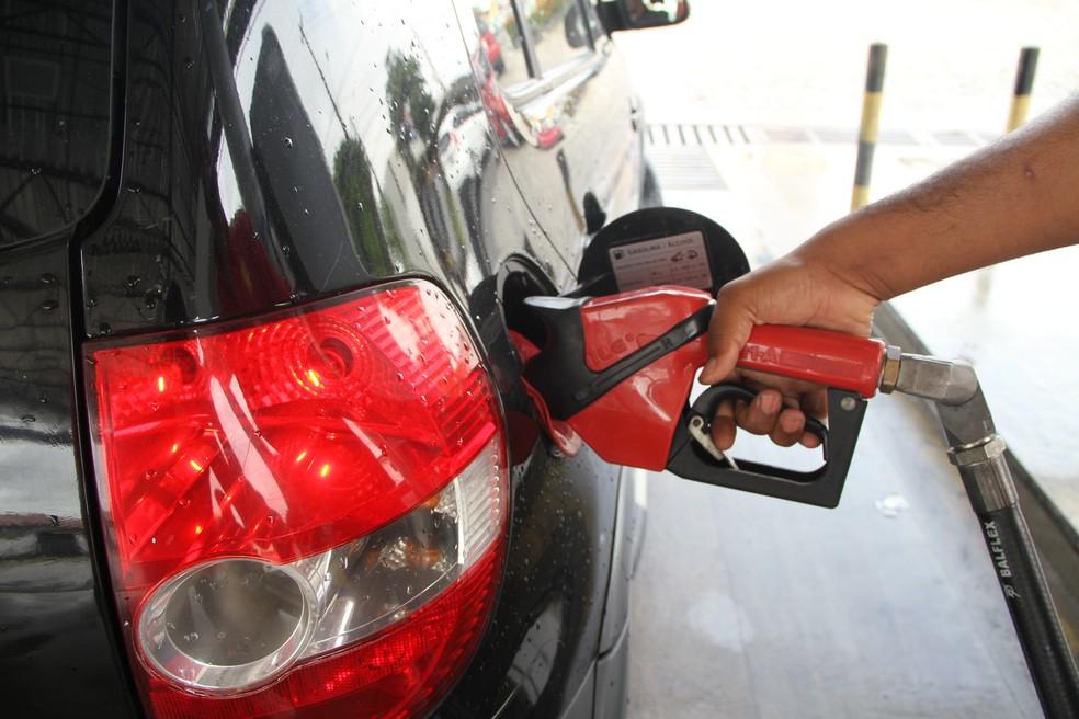 Gasolina em Fortaleza é vendida a partir de R$ 3,82 (Foto: Artur Ferraz/G1)