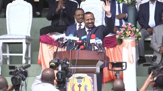 Abiy Ahmed, vencedor do Nobel da Paz, foi decisivo para encerrar conflito com a Eritreia