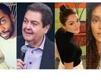 Lázaro Ramos, Taís Araujo e Isabelle Drummond foram alguns dos que citaram lembranças em entrevista ao site | Reprodução e divulgação