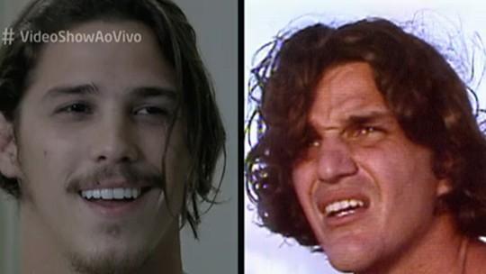 Rômulo Neto se surpreende ao ver cenas do pai, Rômulo Arantes, na TV: 'Tem muita novidade'