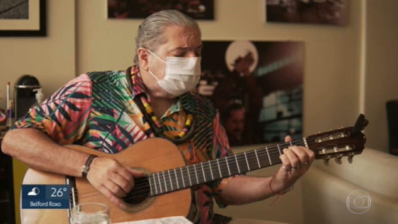 Moacyr Luz canta 'Saudades da Guanabara'