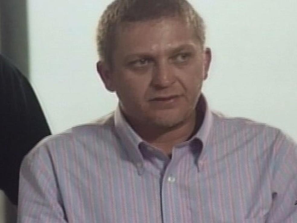 Alemão, mentor do furto ao Banco Central (Foto: TV Verdes Mares/Reprodução)