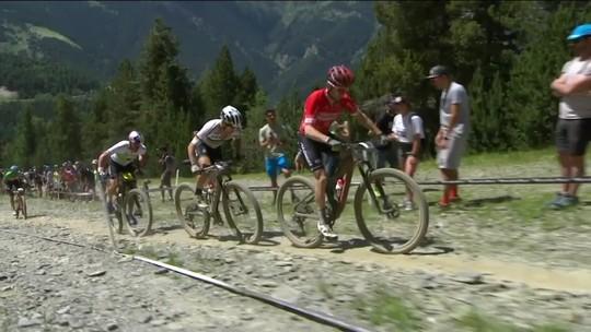 Avancini fica em 3º e consegue pódio inédito para o Brasil na Copa do Mundo de Mountain Bike