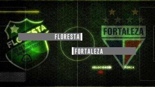 Floresta e Fortaleza jogam pelo Campeonato Cearense com transmissão nesta quarta (14)