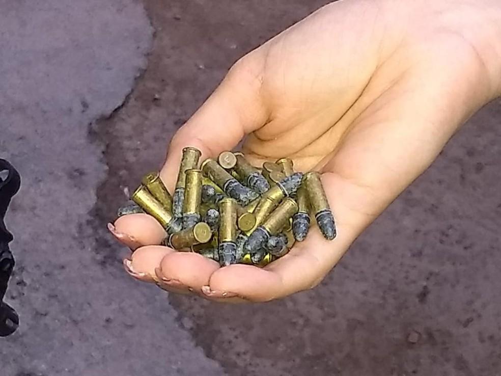 Projéteis foram apreendidos pela Polícia Civil durante a Operação Semente, no Grande Recife — Foto: Polícia Civil/Divulgação