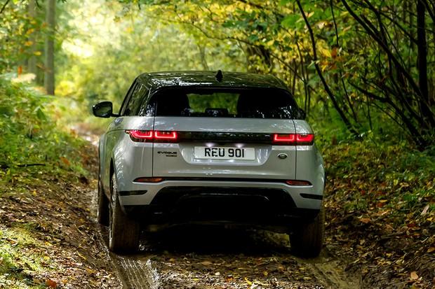 Detalhe da traseira do Range Rover Evoque 2019 (Foto: Divulgação)