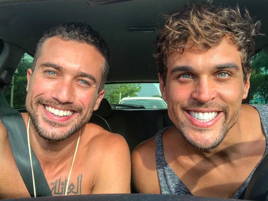 Ricardo Vianna e Felipe Roque (Foto: Reprodução Instagram)