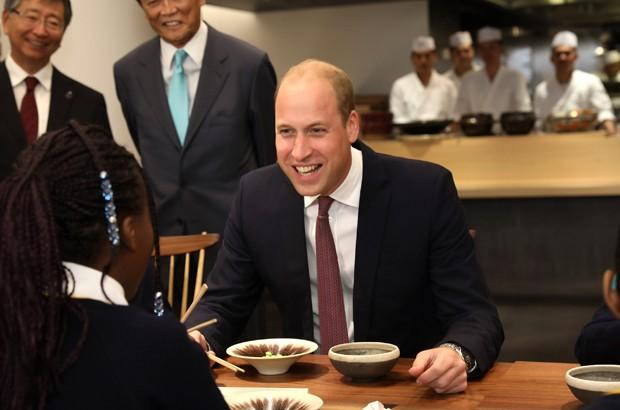 Príncipe William na inauguração da Japan House em Londres (Foto: Getty Images)