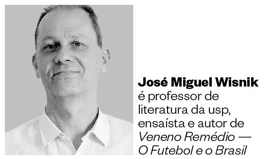 JOSÉ MIGUEL WISNIK É PROFESSOR DE LITERATURA DA USP, ENSAÍSTA E AUTOR DE VENENO REMÉDIO — O FUTEBOL E O BRASIL (Foto: Arquivo pessoal)