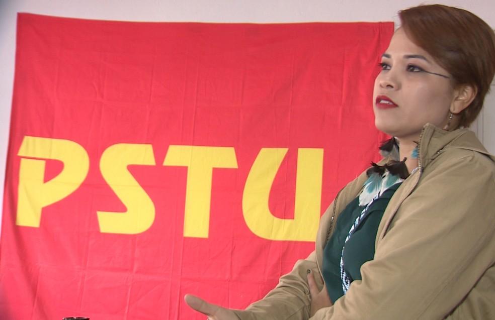 Ingrid Assis (Foto: Reprodução/ NSC TV)