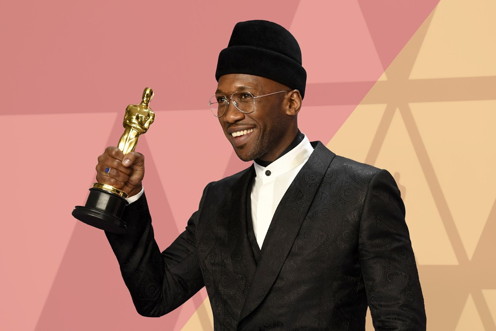 """HOLLYWOOD, CALIFORNIA - FEBRUARY 24: Mahershala Ali, winner of Best Supporting Actor for """"Green Book,"""" poses in the press room during the 91st Annual Academy Awards at Hollywood and Highland on February 24, 2019 in Hollywood, California. (Photo by Frazer  (Foto: Getty Images)"""
