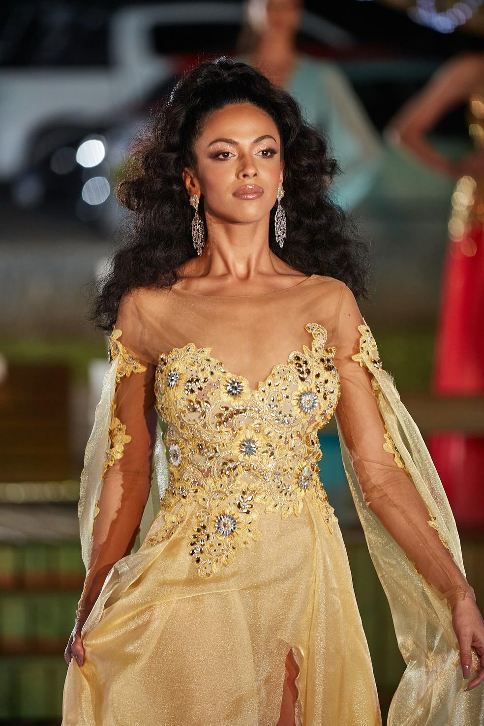Concurso Miss Universo Santa Catarina — Foto: Ricardo Santos/Reprodução