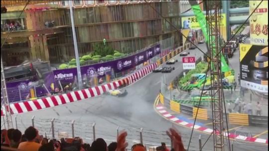 Ano do automobilismo foi marcado por acidentes assustadores; veja os vídeos
