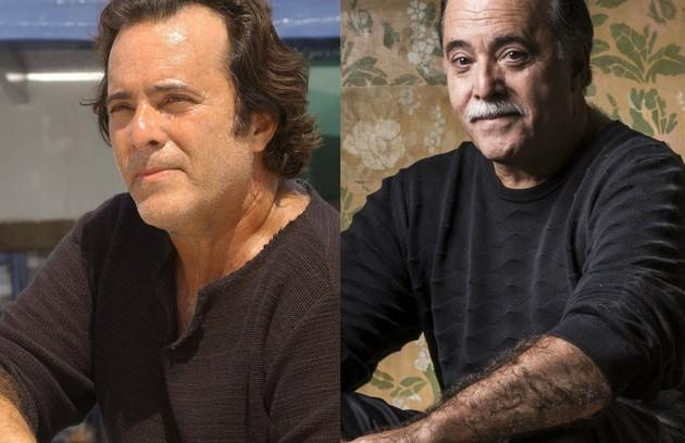 Tony Ramos, que voltará ao ar em 'O Sétimo Guardião', viveu o grego Nikos. Seu personagem se apaixonou por Júlia (Gloria Pires) (Foto: TV Globo)