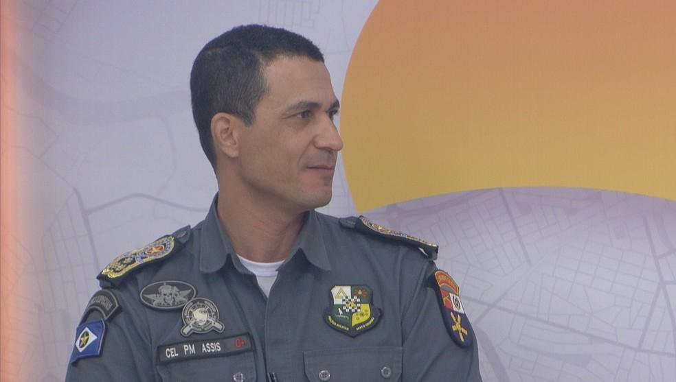 Jonildo José de Assis, comandante-geral da Polícia Militar — Foto: TVCA/Reprodução