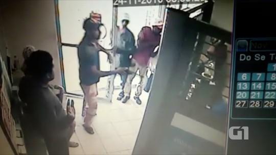 PM reage e atira em ladrões durante assalto a lotérica no RN; veja vídeo