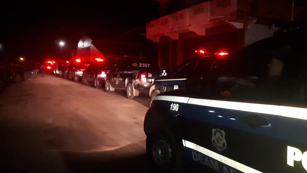 -  Operação prende onze pessoas em Abaetetuba, no interior do Pará.  Foto: Reprodução / Polícia Civil