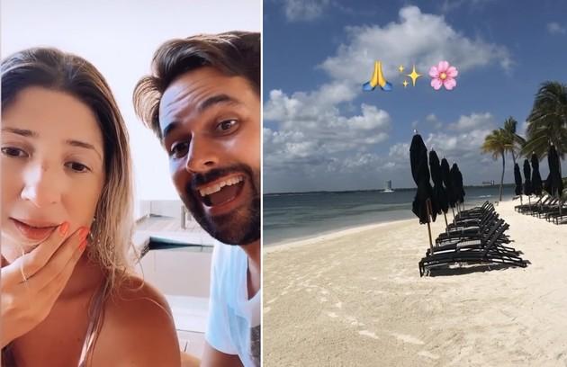Após viagem a Punta Cana, Dani Calabresa curte Cancún com o namorado, Richard (Foto: Reprodução)