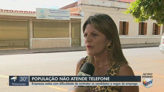 Candidatos a empregos não atendem telefonemas e perdem oportunidades em Itirapina