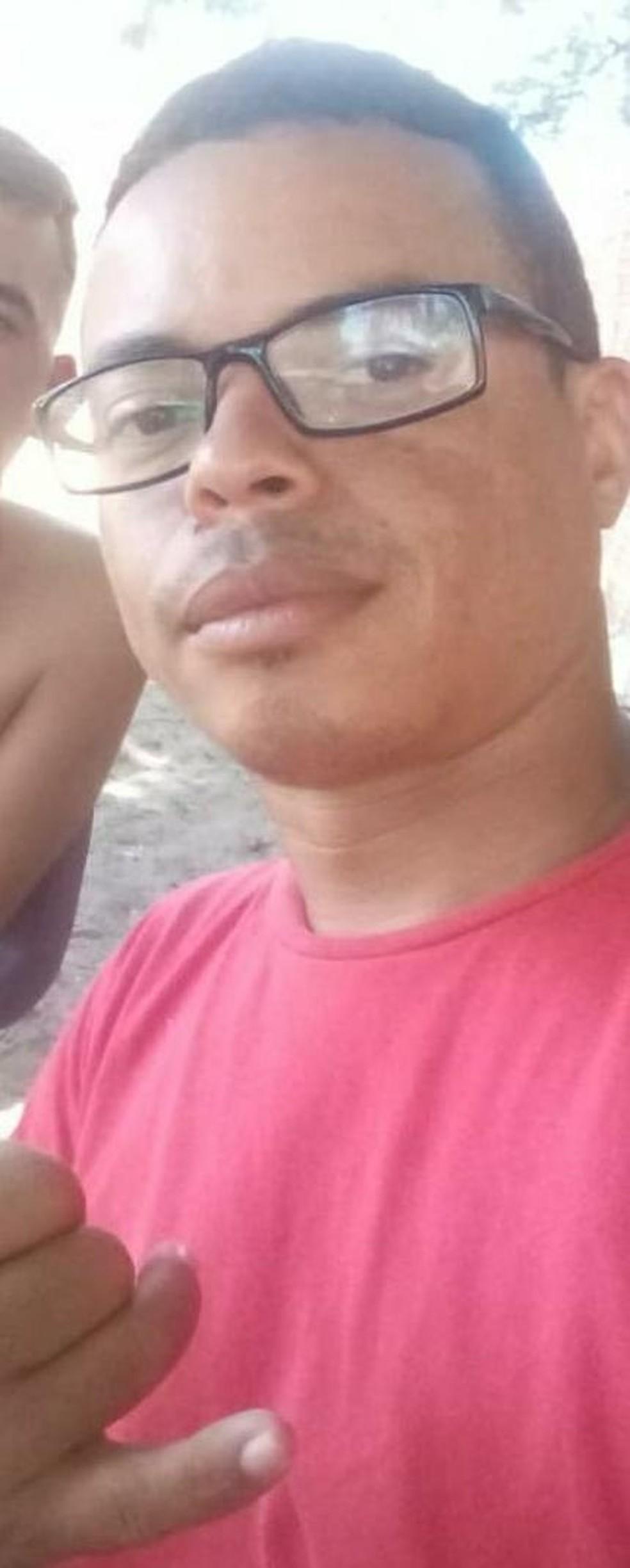Gustavo Queiroz Elias, de 30 anos, foi executado a tiros em Extremoz, na Grande Natal. — Foto: Reprodução