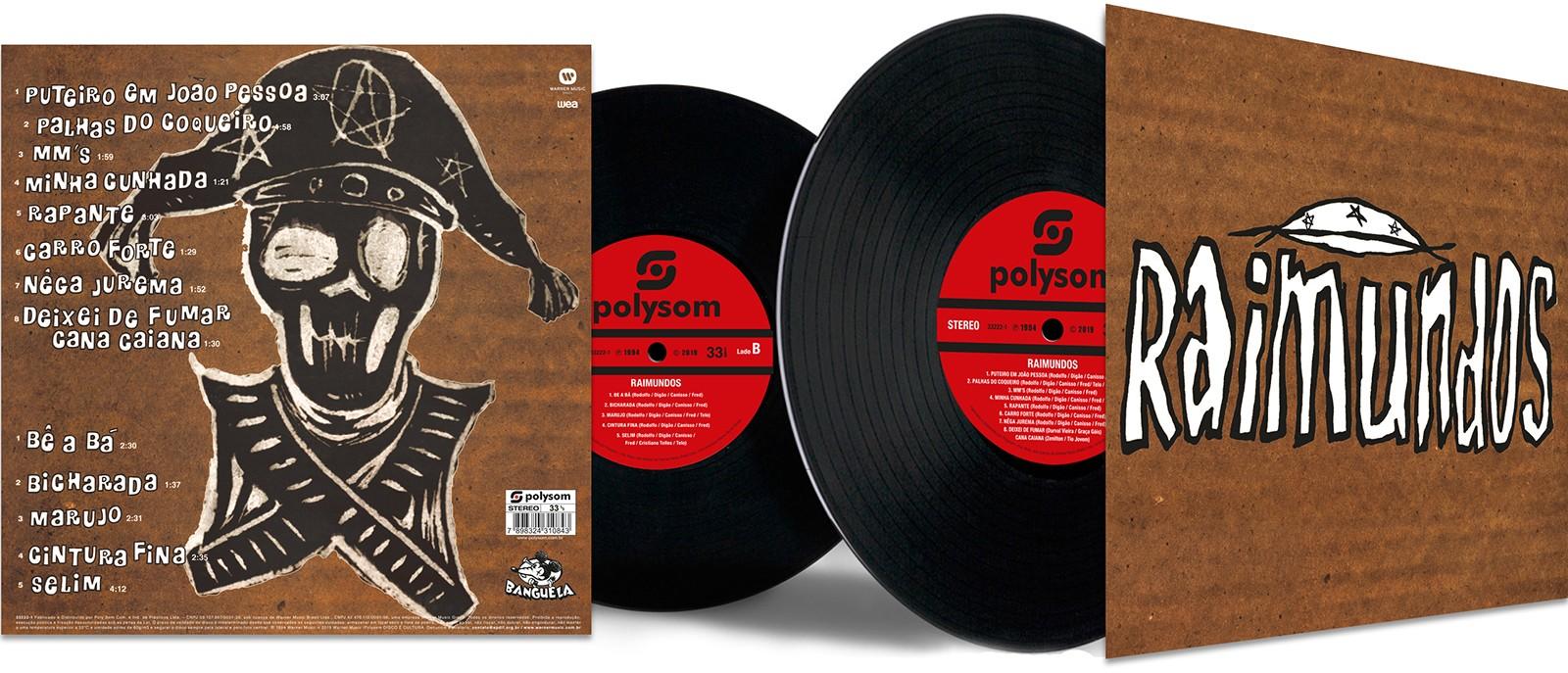 Primeiro álbum dos Raimundos é editado em LP com status de ter apontado tendência do rock brasileiro nos anos 1990 - Notícias - Plantão Diário