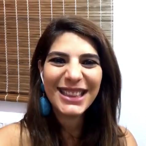 Andréia Sadi (Foto: Reprodução)