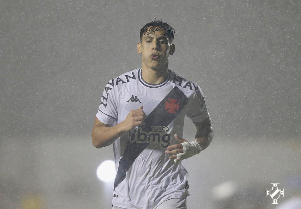 Sarrafiore marcou o gol da vitória do Vasco em Salvador — Foto: Rafael Ribeiro/ Vasco/Divulgação