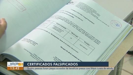 Detentos pagavam até R$ 12 mil por falsos diplomas para solicitar redução de penas no AP