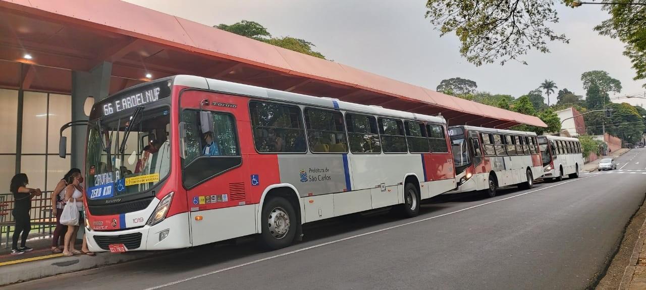 Linha expressa de ônibus em São Carlos vai ligar 2 bairros ao Centro com menor tempo de viagem