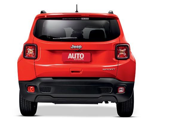 Comparativo: O novo Renault Duster encara seu rival histórico Ford Ecosport, além dos três modelos mais vendidos: Jeep Renegade (na foto), Creta e Kicks (Foto: Divulgação)