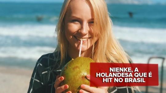 Nienke, holandesa fã de Pabllo Vittar e Wesley Safadão, bomba no YouTube com vídeos para brasileiros
