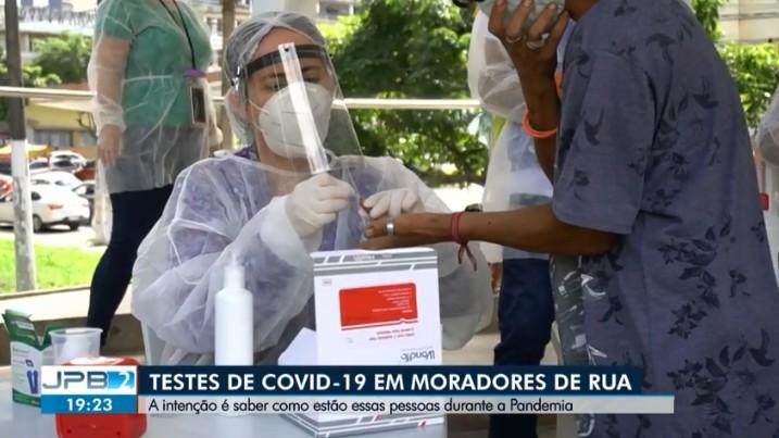 Duas pessoas em situação de rua são contaminadas pela Covid-19, em Campina Grande