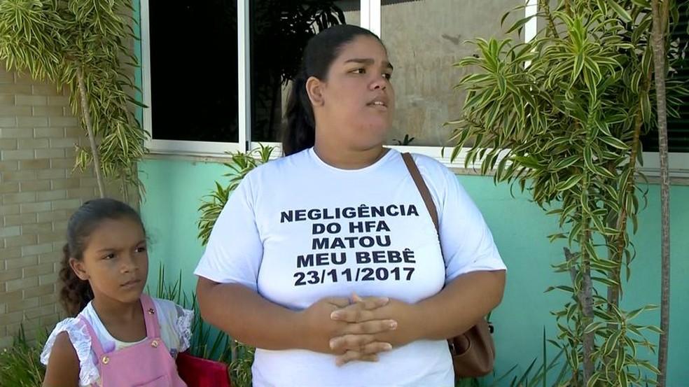 Márcia perdeu a filha Lara em 2017, na 41ª semana de gestação. A menina nasceu morta — Foto: Reprodução/TV Gazeta